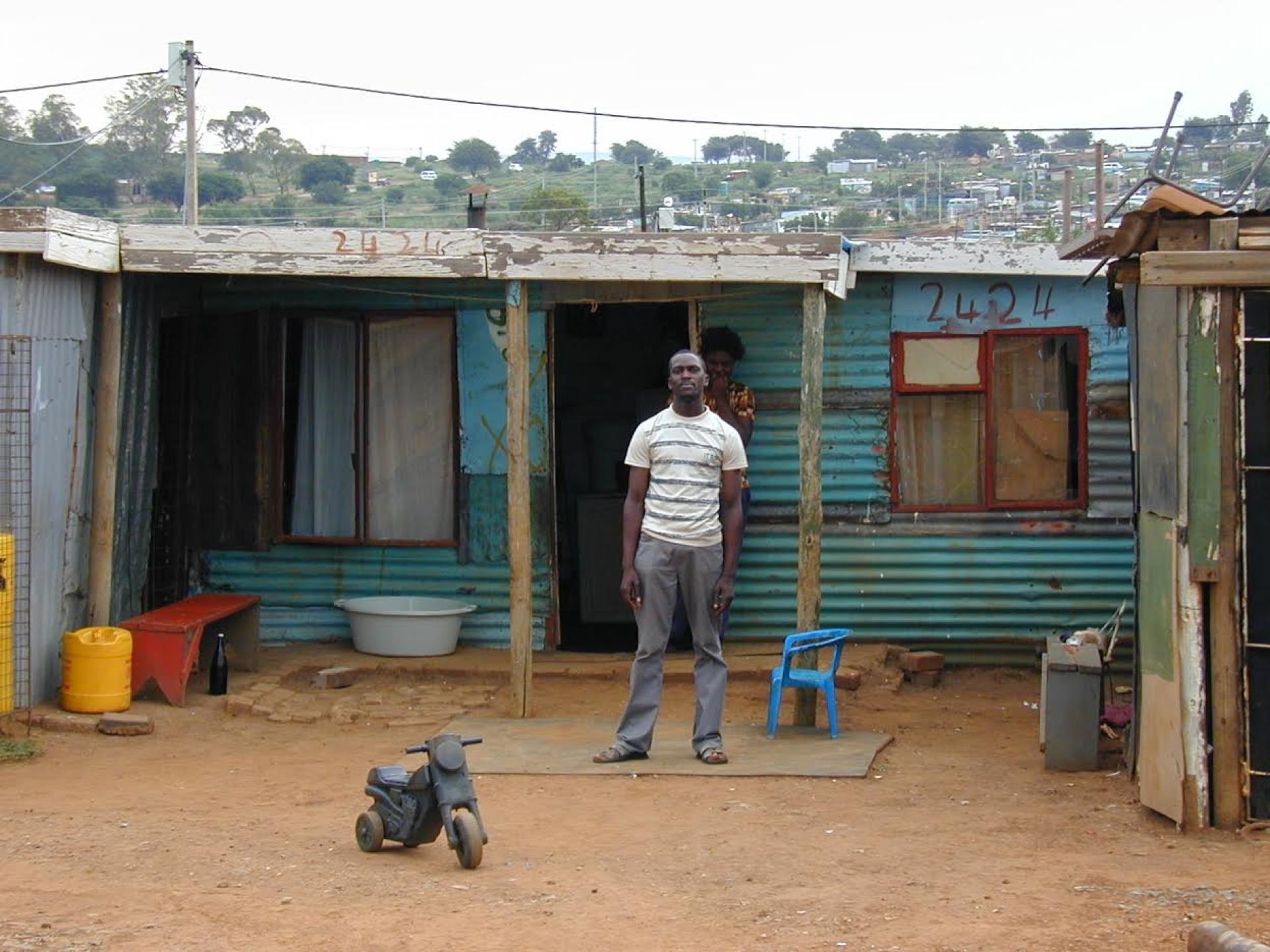 A Soweto, en 2004.