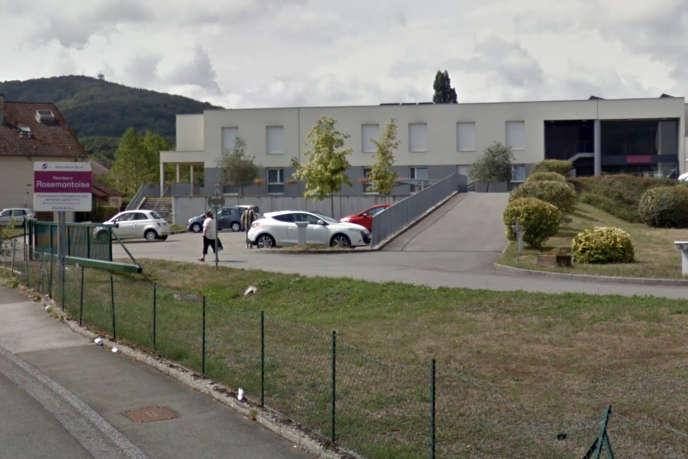 L'Ehpad La Rosemontoise, à Valdoie (Territoire de Belfort), en août 2018.