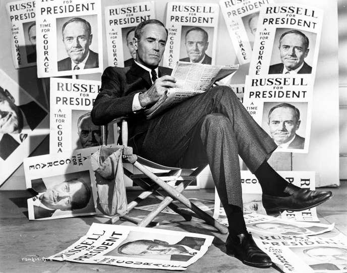 Henry Fonda dans «Que le meilleur l'emporte» (1964), deFranklin J. Schaffner.