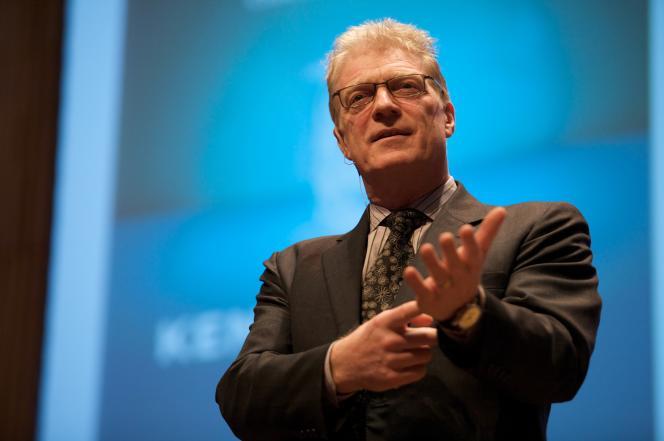 Ken Robinson à la Creative Company Conference d'Amsterdam en 2009.