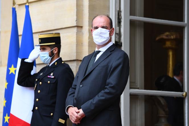 Le premier ministre Jean Castex, à Matignon, le 24 août.