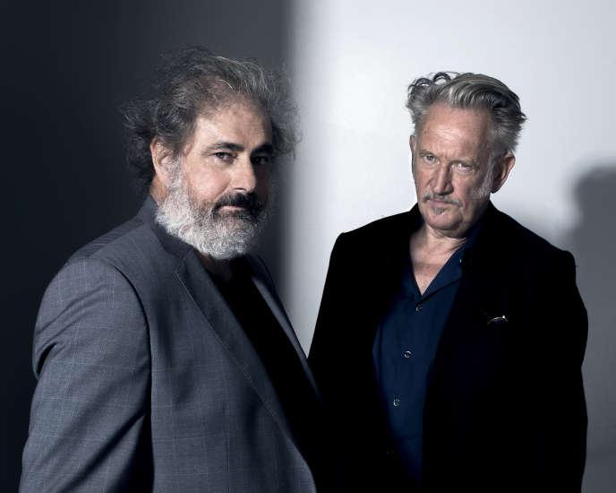Gustave Kervern et Benoît Delépine, à Paris, le 24 août 2020.