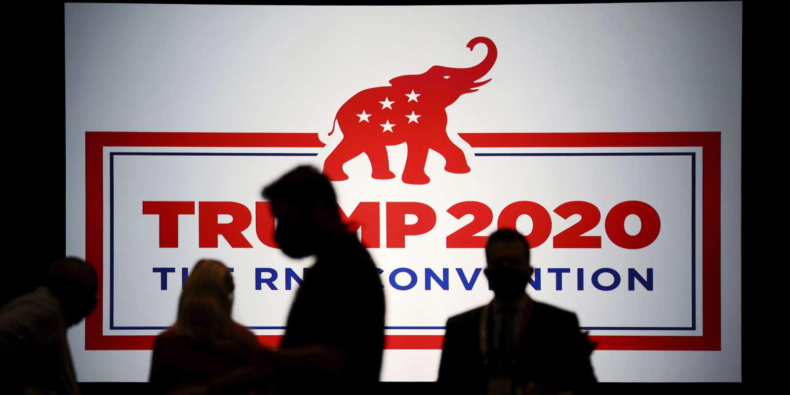 Lors de la Convention nationale du Parti républicain, à Charlotte en Caroline du Nord, le 24 août 2020.