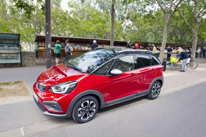 La nouvelle Honda Jazz n'est disponible qu'en version hybride.