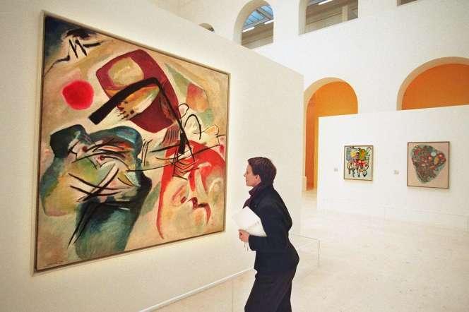 «Avec l'Arc noir» (1912), deVassily Kandinsky(collection du Centre Georges Pompidou).