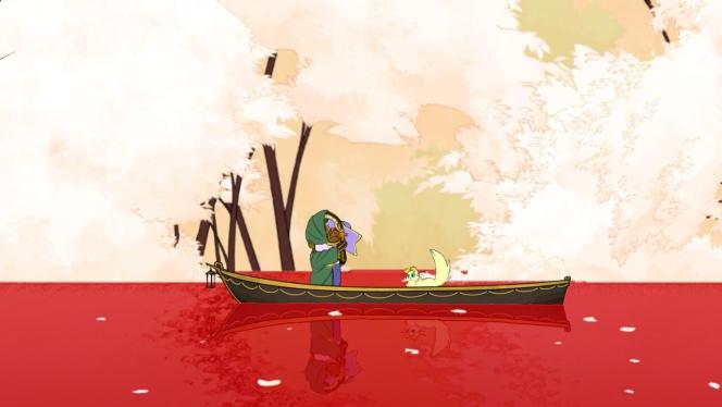 Une fois chaque passager arrivé au bout de sa quête, il traverse l'Evergate pour disparaître.