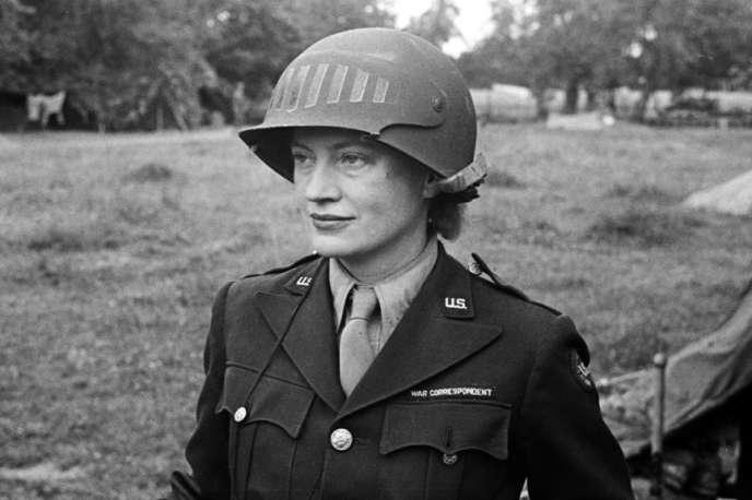Lee Miller, enNormandie, en 1944.