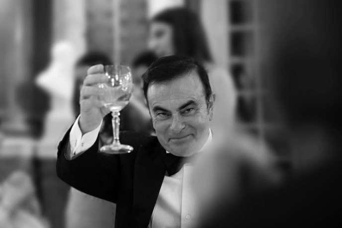 Carlos Ghosn dans le documentaire que lui consacreGilles Cayatte.