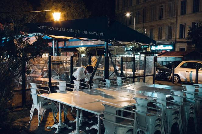 Le Cours Julien, à Marseille, le 26septembre.