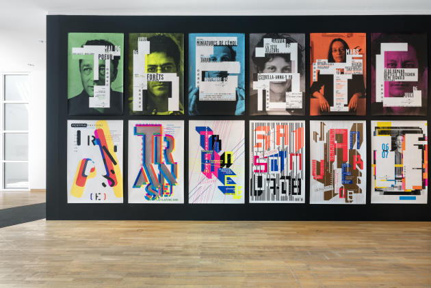 Exposition «Anette Lenz à propos», au musée des arts appliqués de Francfort.