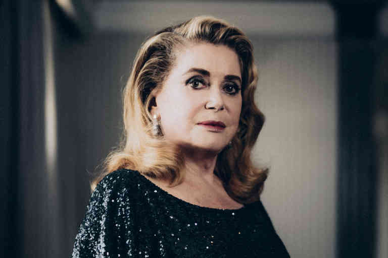 CANNES, FRANCE - MAY 25: Actress Catherine Deneuve poses for a portrait on May 25, 2019 in Cannes, France. (Photo by Julien Mignot/Contour by Getty Images)