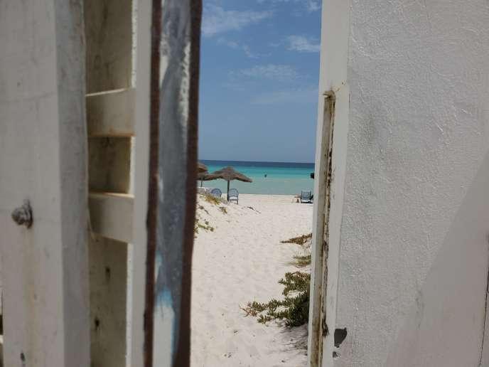 Une plage non loin de Salakta, en Tunisie.