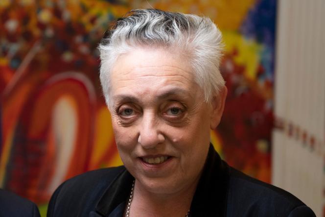 Ruth Mackenzie, directrice artistique du Châtelet, à Paris le 26 mars 2019.