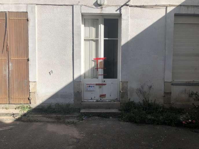 La maison du crime, située tout près du centre-ville de Nantes.