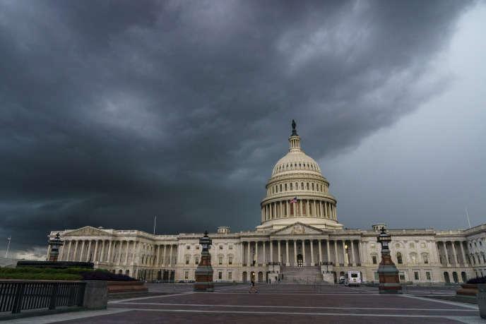 Le Capitole de Washington, où siègent le Sénat et la Chambre des représentants, le 28août.