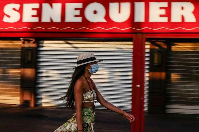 A Saint-Tropez (Var), le 16 août.