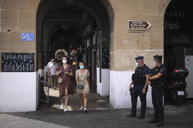 À Marseille, le 18 août.