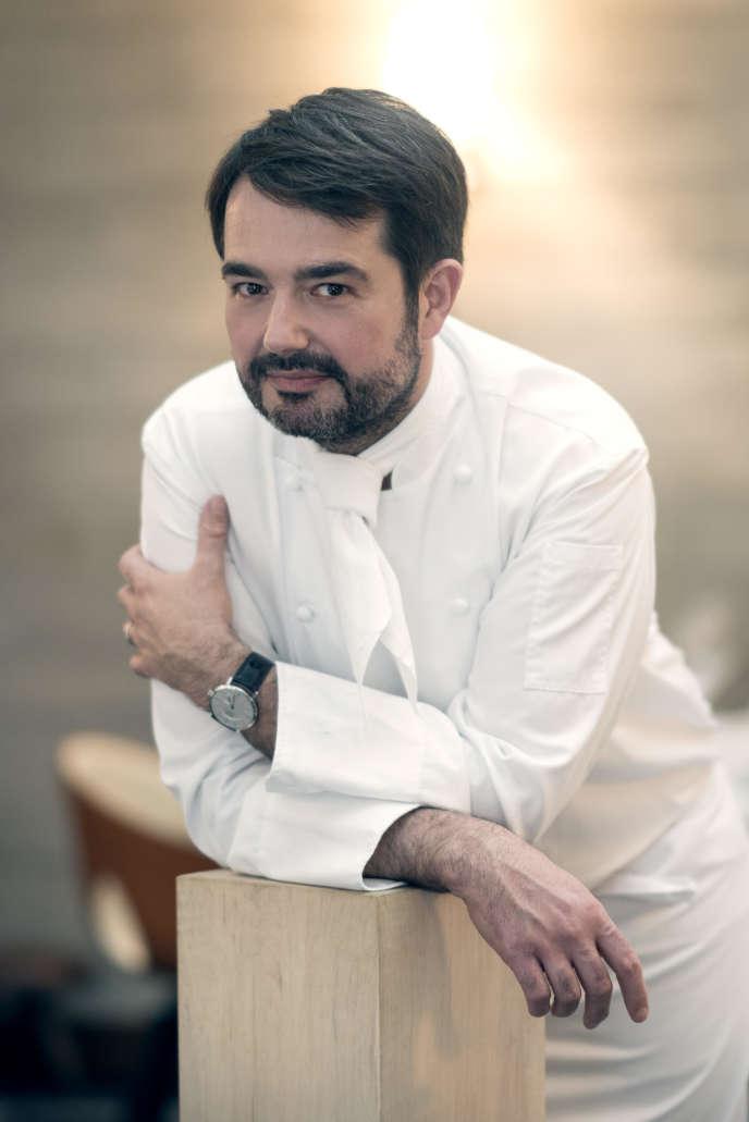 Le chef Jean-François Piège, ici au Grand Restaurant, en 2018.