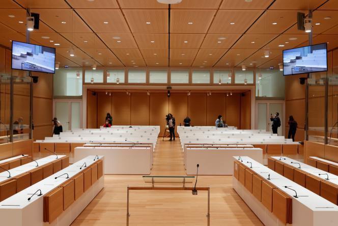 La cour d'assises spéciale de Paris, où se tiendra le procès des attentats de «Charlie Hebdo», Montrouge et de l'Hyper Cacher, le 27 août.