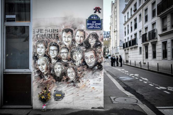 L'attentat du 7 janvier 2015 a fait onze victimes au sein de la rédaction de« Charlie Hebdo», ainsi qu'un policier,Ahmed Merabet, tué dans la rue peu après.