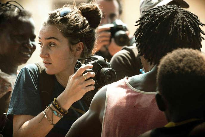 Nina Meurisse incarne la photojournaliste Camille Lepage, tuée en 2014 en Centrafrique.