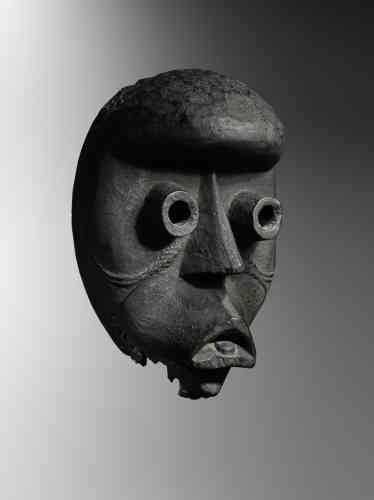 Masque Dan. Côte d'Ivoire, collecté in situ dans les années 1930.