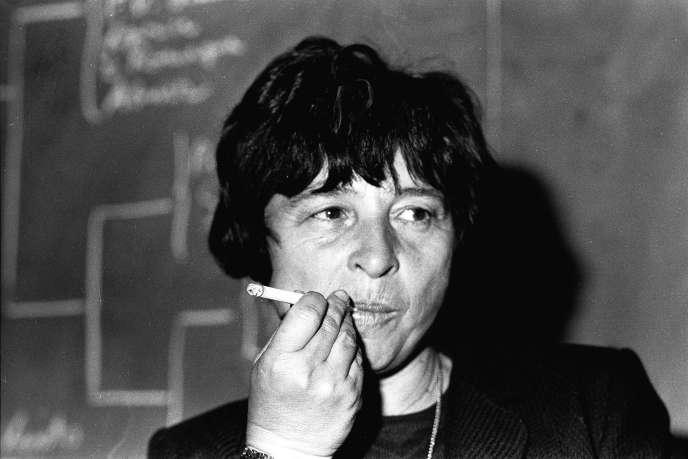 Agnes Heller, à Rome, en 1981.