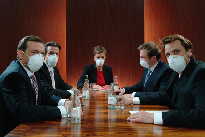 «Le risque de contamination augmente en fonction du débit d'air, de la densité de population et de la façon de parler.»