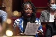 La député (LFI) Danièle Obono à l'Assemblée nationale,le 28 juillet.