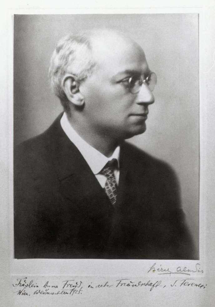 Sandor Ferenczi, en1925.