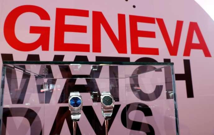 Montres Bulgari aux Geneva Watch Days, à Genève, le 26 août.