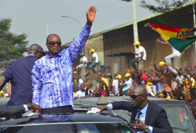 La Cour constitutionnelle guinéenne a confirmé, le 7novembre, les chiffres annoncés la semaine précédente par la Commission électorale nationale indépendante (CENI), consacrant la victoire d'Alpha Condé à la présidentielle du 18 octobre.