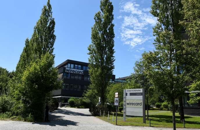 Le siège de Wirecard, près de Munich (Allemagne), le 1er juillet 2020.