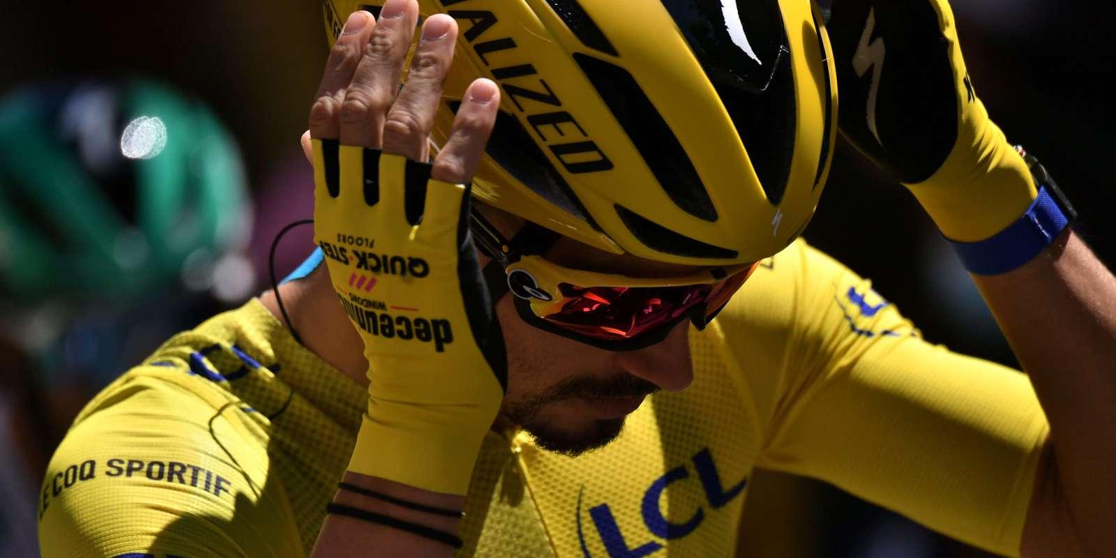 Julian Alaphilippe lors de la 5e étape du Tour de France, le 2 septembre.
