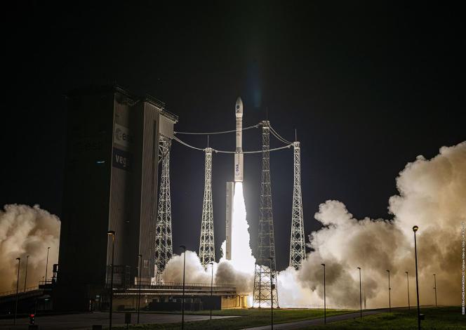 Décollage de la fusée Vega, le 2 septembre.