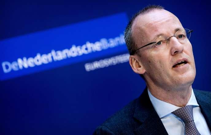Klaas Knot, président de la banque centrale néerlandaise, à Amsterdam, le 29 mars 2018.
