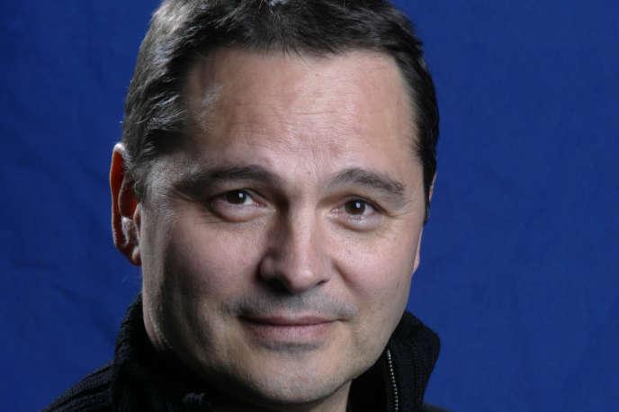 Le directeur du Festival du cinéma américain de Deauville, Bruno Barde, en mars 2004, à Deauville.