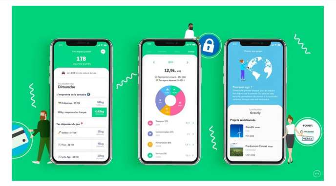L'application Greenly.