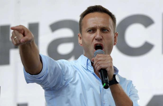 Berlin a déclaré avoir établi qu'Alexey Navalny, un avocat de 44 ans qui est le principal opposant au président russe Vladimir Poutine, avait été empoisonné par un produit de la famille Novichok.