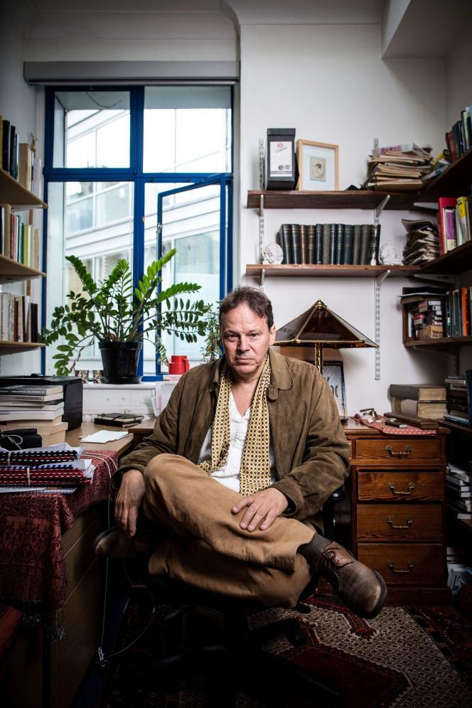 David Graeber à Londres en 2018.