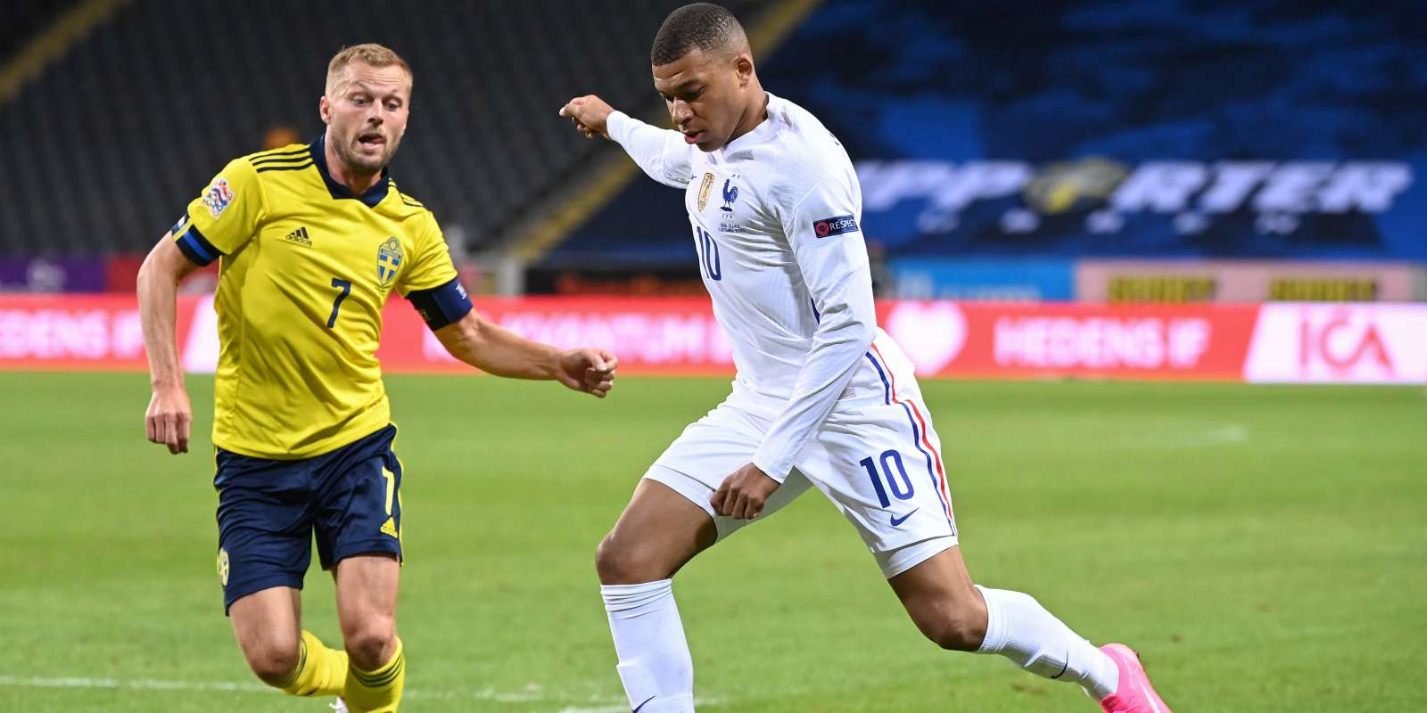 Ligue Des Nations En Direct La France S Impose 1 0 Face A La Suede Grace A Un But De Kylian Mbappe