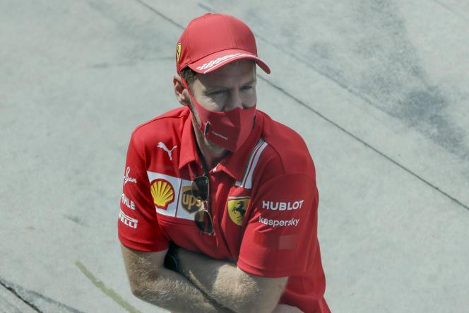 Sebastian Vettel est arrivé chez Ferrari en 2015.