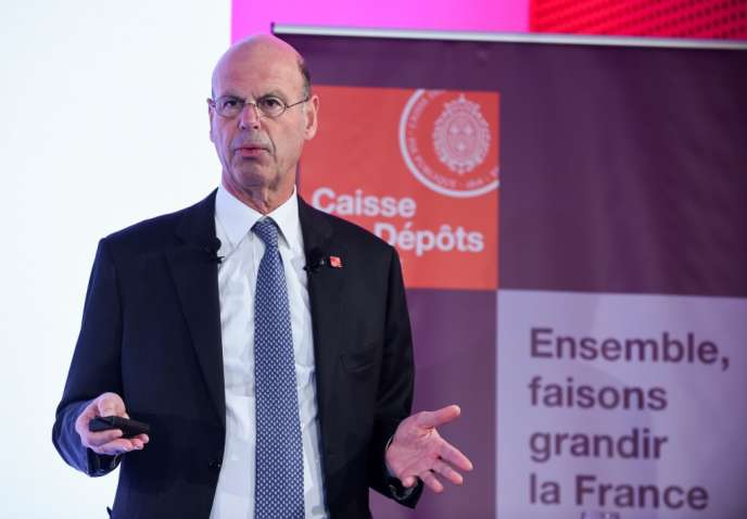 Eric Lombard, directeur général de la Caisse des dépôts, à Paris, en avril 2019.