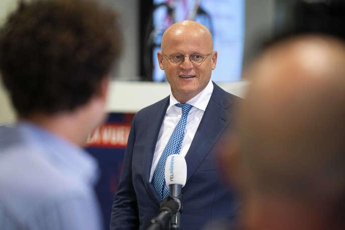 Le ministre néerlandais de la justice et de la sécurité, Ferdinand Grapperhaus, le 17août 2020, à Utrecht.