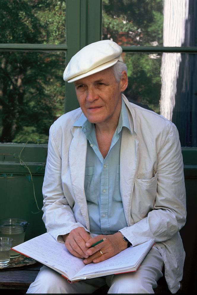 Le romancier suédois Carl-Henning Wijkmark.