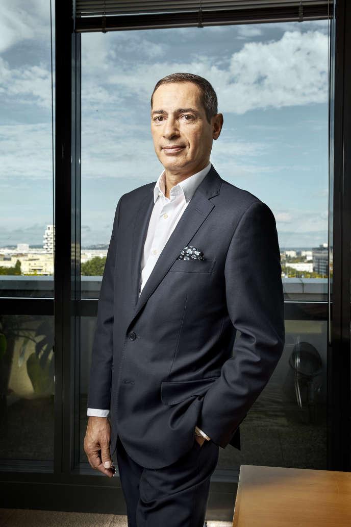 Jean-Paul Mochet, PDG du groupe Monoprix dans son bureau, le4 septembre 2020.