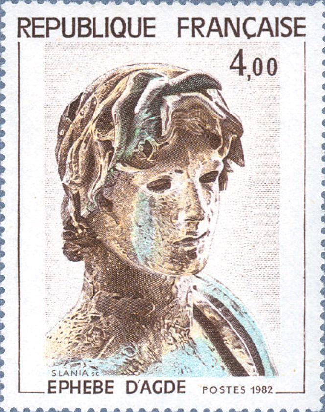 « Ephebe d'Agde», de Czesław Slania (1982).