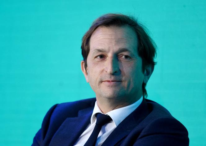 Bertrand Camus,directeur général de Suez, le14 janvier 2020.