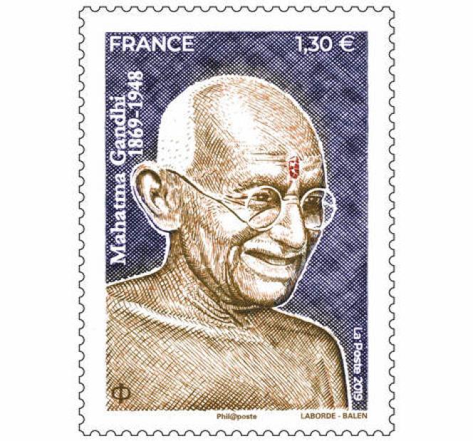 Portrait de « Gandhi. 1869-1948», par Christophe Laborde-Balen (2019).
