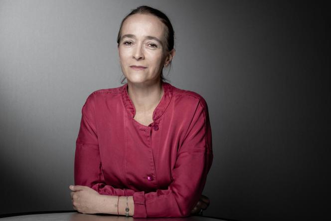 La présidente de France Televisions, Delphine Ernotte, à Paris, en septembre 2019.